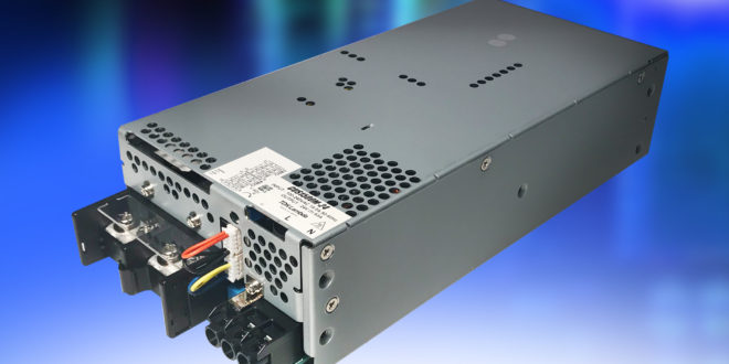 1500W medical power supplies offer low acoustic noise and meet class B radiated / conducted EMI standards