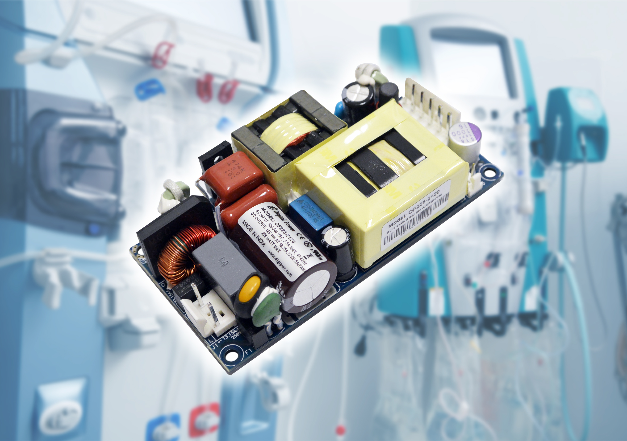 Wide range of medical power supplies available from Gresham