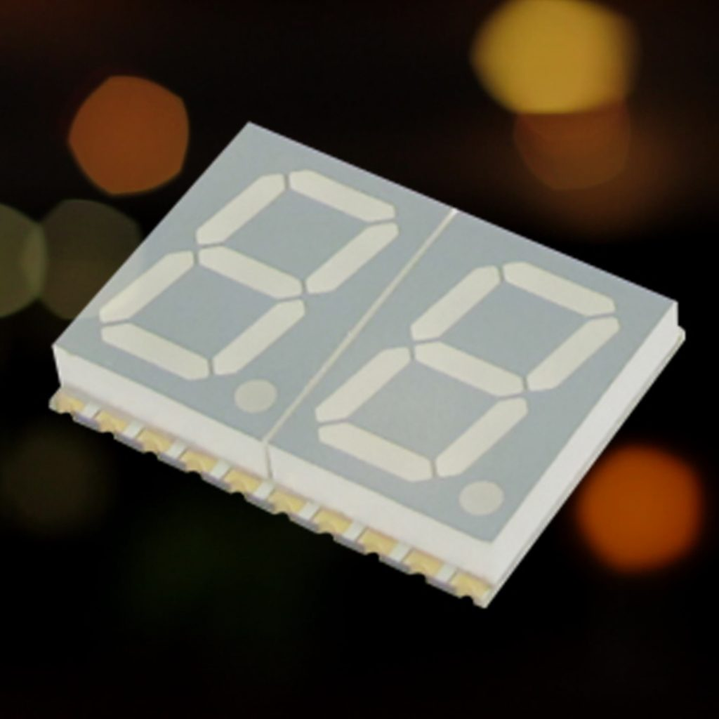 Rugged 7 Segment Single Digit Smd Led Displays Now Available From Seven Display System Typical Applications Include Laboratory Industrial And Handheld Instrumentation Control Systems Test Measurement Equipment