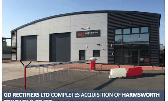 GD Rectifiers acquires Harmsworth Townley & Co