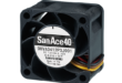 Latest 40mm x 28mm high pressure 9HV fan delivers highest available performance for modern 1U rack applications