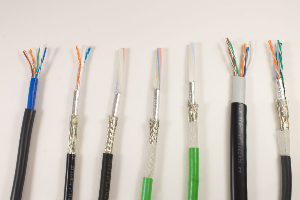 AlphaWire adds 10 new industrial Ethernet products: CAT 5 PROFINET ...