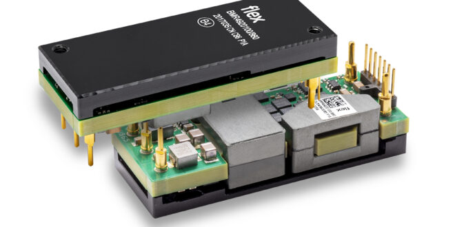 BMR492 series of digital eighth-brick DC/DC converters deliver up to 1100 W power capability