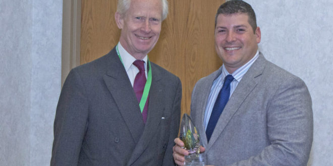 Technology business manager at Digi-Key receives special award from Harwin