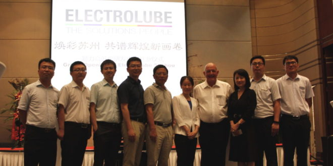 Electrolube opens state-of-the-art R&D centre in China