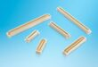 Compact high pin count 0.8mm pitch mezzanine connectors target high-density industrial systems