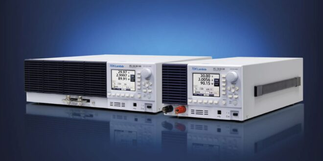 300W and 1,000W programmable electronic DC loads offer multiple operating modes, high-speed response times and linear start-up from 0V