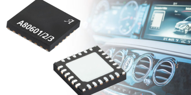 Latest LED Driver family from Allegro eliminates PWM audible noise with patented control method