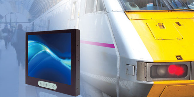 "Rail contract is supplied with ""Litemax 1068E 10.4"" TFT LCD Displays"" from Display Technology"