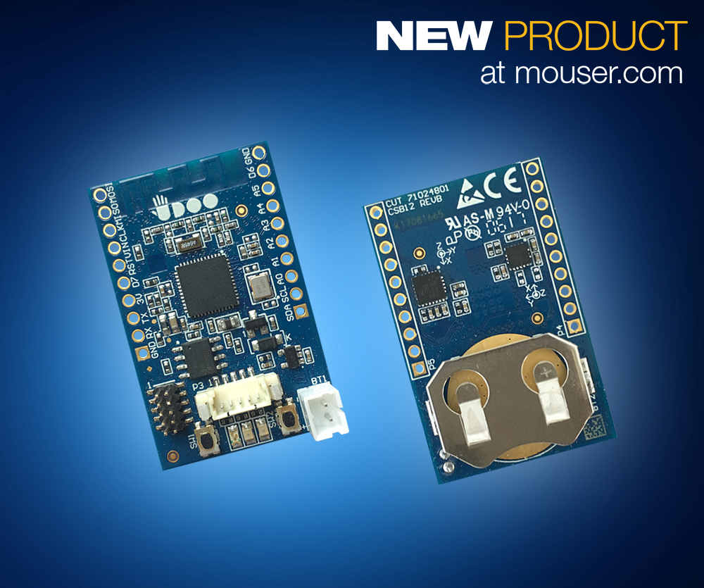 Now at Mouser: UDOO's BLU Sense module provides Bluetooth