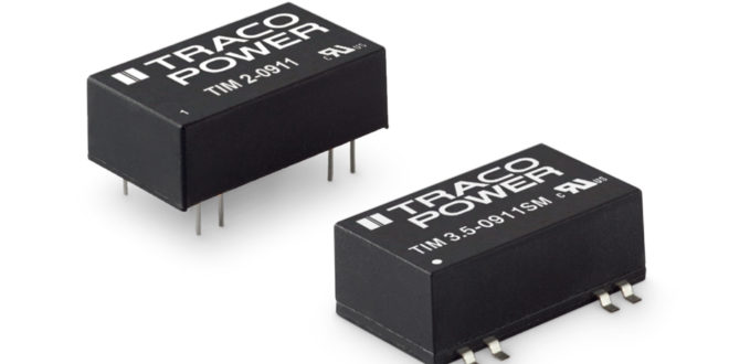RS Components introduces high-reliability DC/DC converters targeting medical applications