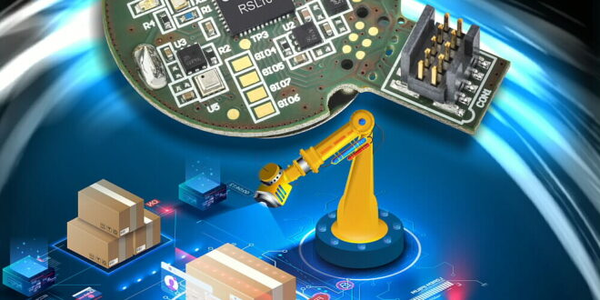 Low power asset tag brings five-year battery life to industrial asset management