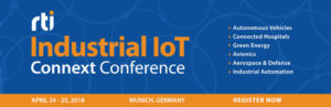 RTI Industrial IoT Connext Conference – Invitation to the world's largest gathering of power DDS users @ The Westin Grand Munich