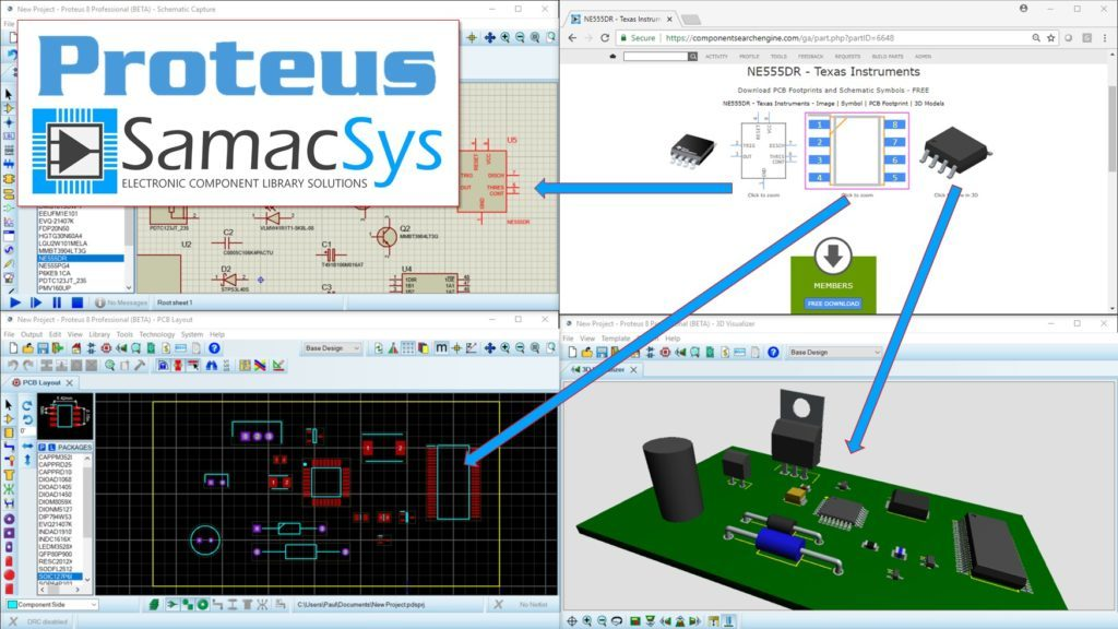 Labcenter Partners With Samacsys To Provide Schematic Symbols Pcb
