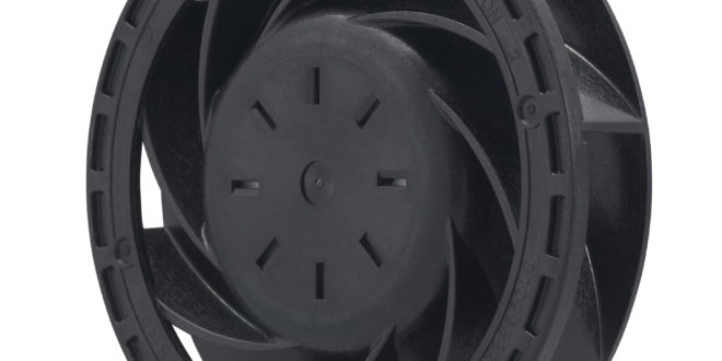 Latest 70mm Ø x 20 mm centrifugal fan delivers up to 39.9 CFM airflow and 560 Pa static pressure