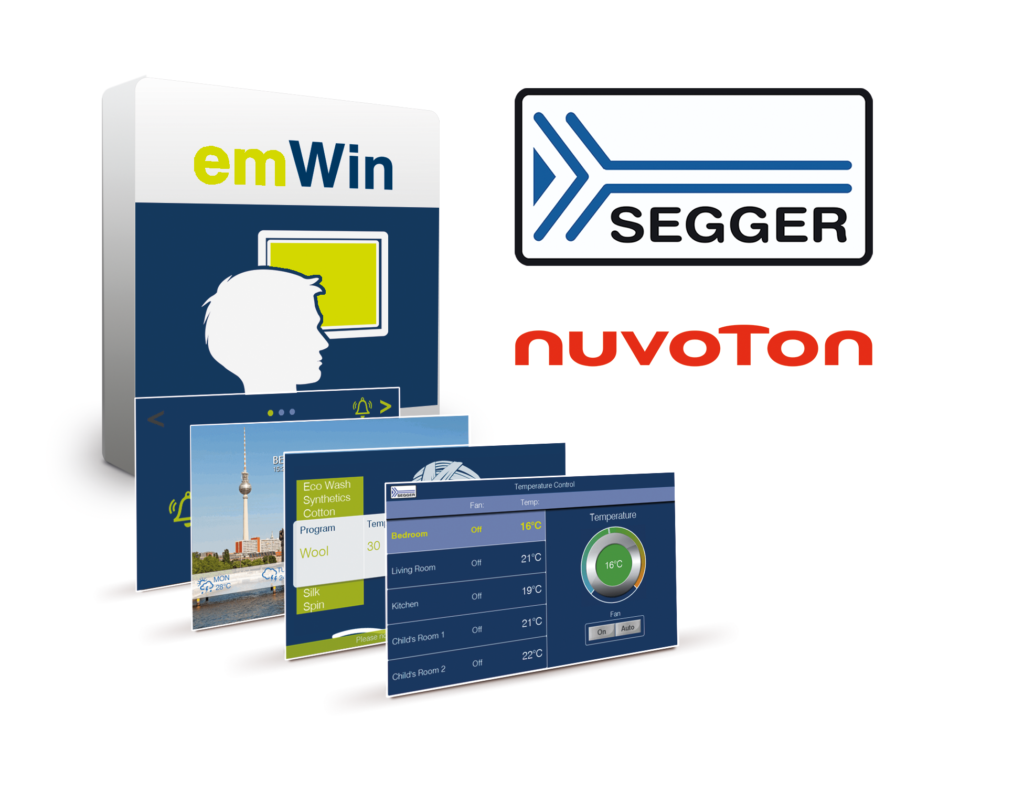 Nuvoton Technology And Segger Collaborate To Provide Customers With Embedded Emwin Gui Software Cie