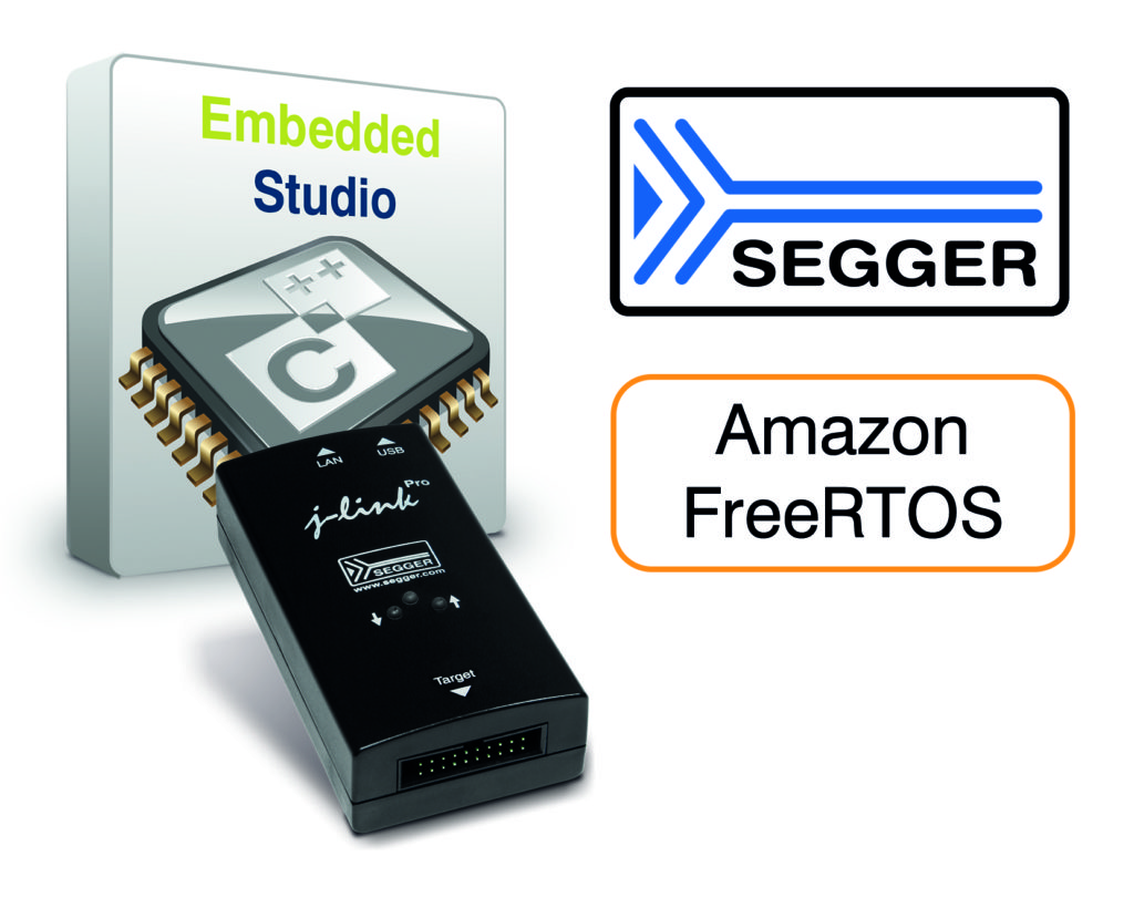 SEGGER Embedded Studio and J-Link support Amazon FreeRTOS – CIE