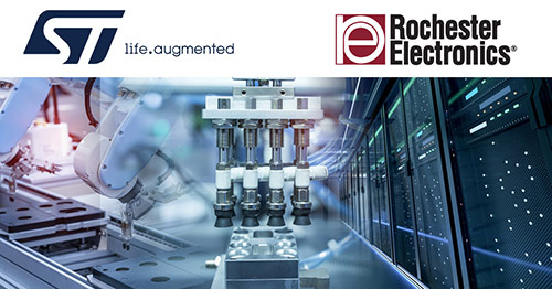 Rochester Electronics collaborates with STMicroelectronics