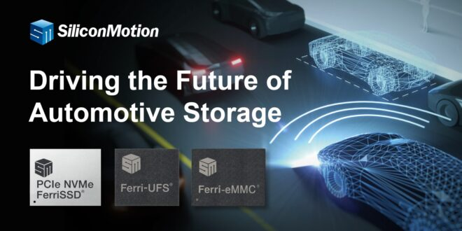 Silicon Motion Demonstrates Automotive Storage, Embedded Boot Load and USB Display SoC Solutions at Embedded World 2021 Digital