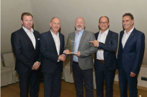 TDK honours Digi-Key with European distribution award in gold for