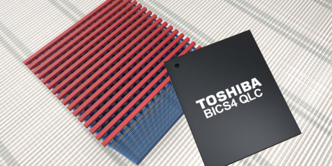 Toshiba Memory Europe announces 96-layer BiCS FLASH development with QLC technology