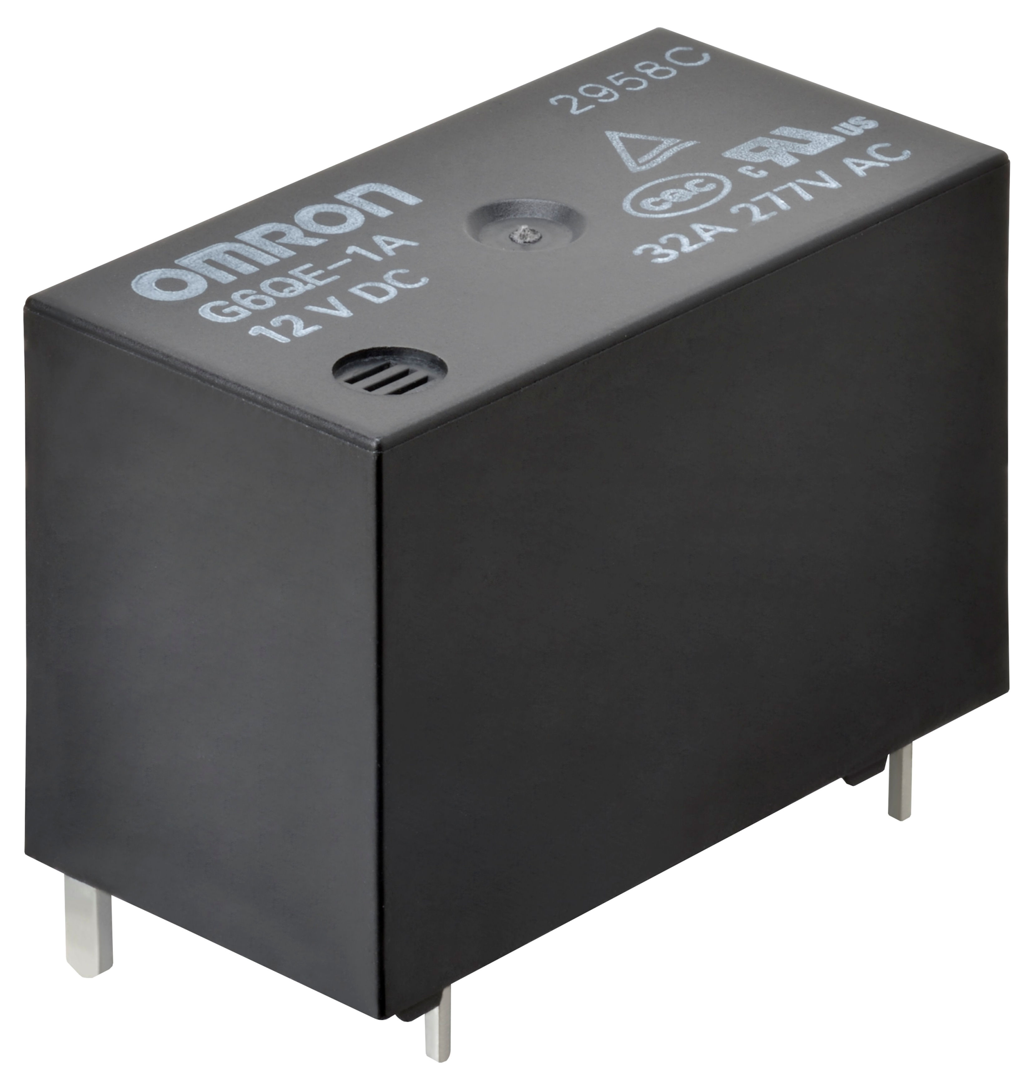 Omron Release New Small Size Pcb Power Relay Boasting High Switching Electrical For Dummies The G6qe From Has A Capacity Of 32a