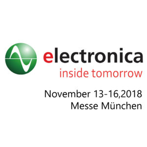 electronica 2018 @ Messe Munchen