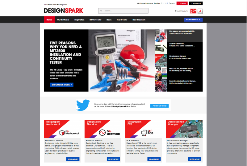 Rs Components Announces Designspark Community Reaches Milestone Of Half A Million Members Cie